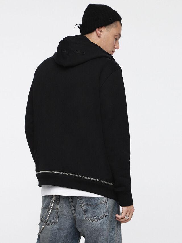 Diesel - S-ZIPPERY, Black - Sweaters - Image 2