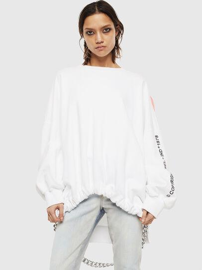 Diesel - F-JUSTIN, White - Sweaters - Image 1