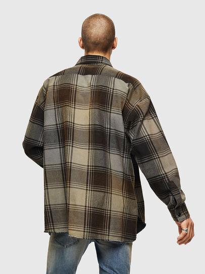 Diesel - S-MINER, Brown - Shirts - Image 2