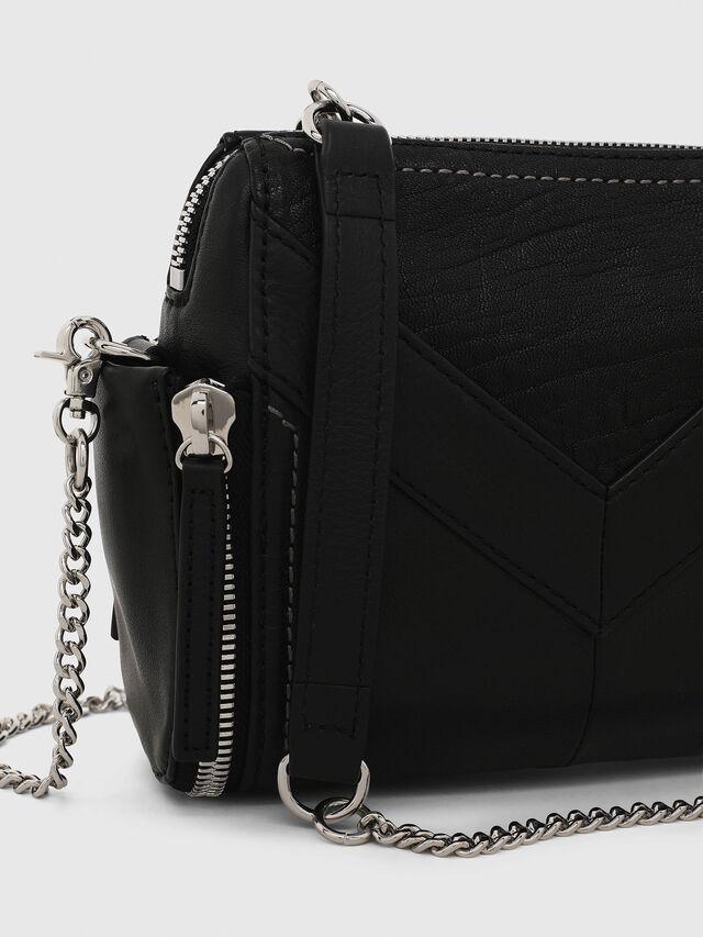 Diesel - LE-BHONNY, Black - Crossbody Bags - Image 5