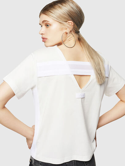 Diesel - T-RYLY, White - T-Shirts - Image 2