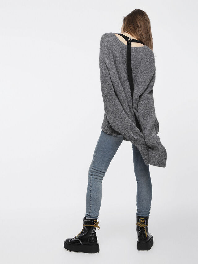 Diesel - M-ALPY, Grey - Knitwear - Image 4