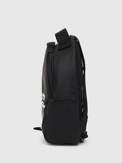 Diesel - F-BOLD BACK FL, Bright Black - Backpacks - Image 3