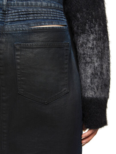 Diesel - ODIANNE, Dark Blue - Skirts - Image 4