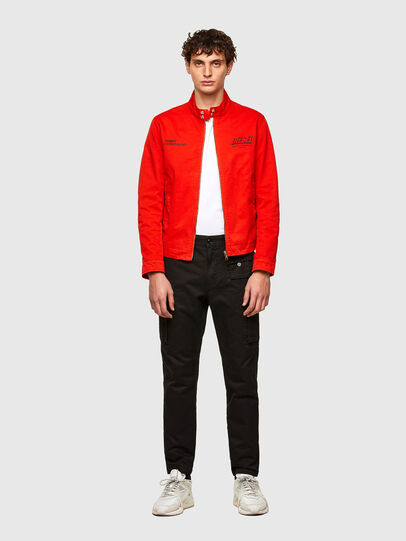 Diesel - J-HALLS-PRINT, Orange - Jackets - Image 5