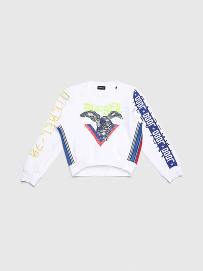 Diesel - SLYANYDY, White - Sweaters - Image 1