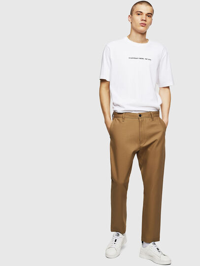 Diesel - P-JARED-NL, Light Brown - Pants - Image 5