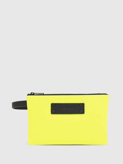 Diesel - LUSIEVOLUTION, Yellow Fluo - Continental Wallets - Image 1
