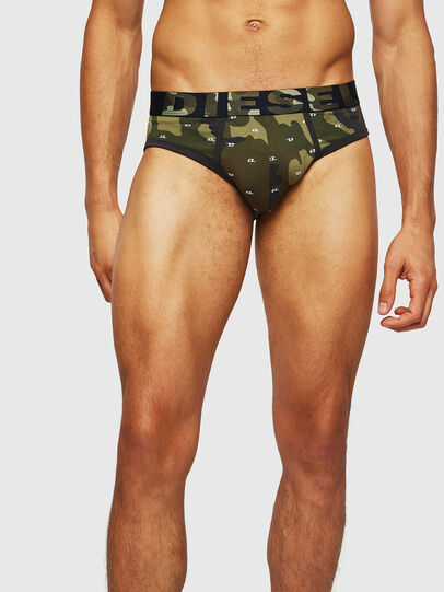 Diesel - UMBR-ANDRE, Green Camouflage - Briefs - Image 3
