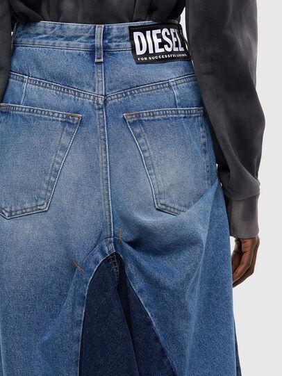 Diesel - DE-LAU-SP, Medium blue - Skirts - Image 4