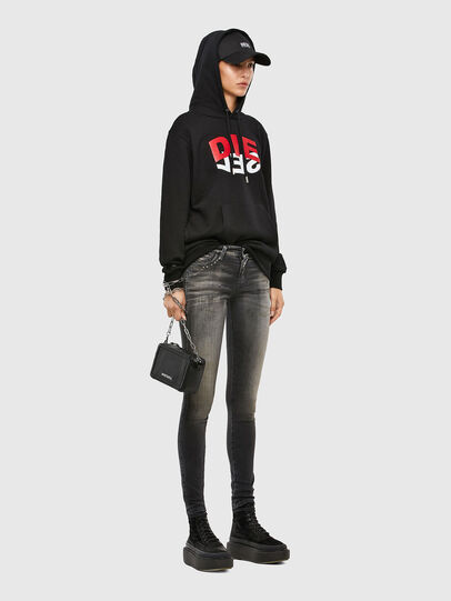 Diesel - Slandy 069QR, Black/Dark grey - Jeans - Image 5