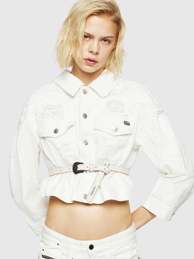 DE-CATE, White - Denim Jackets