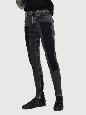 D-Amny 0890T, Black/Dark grey - Jeans