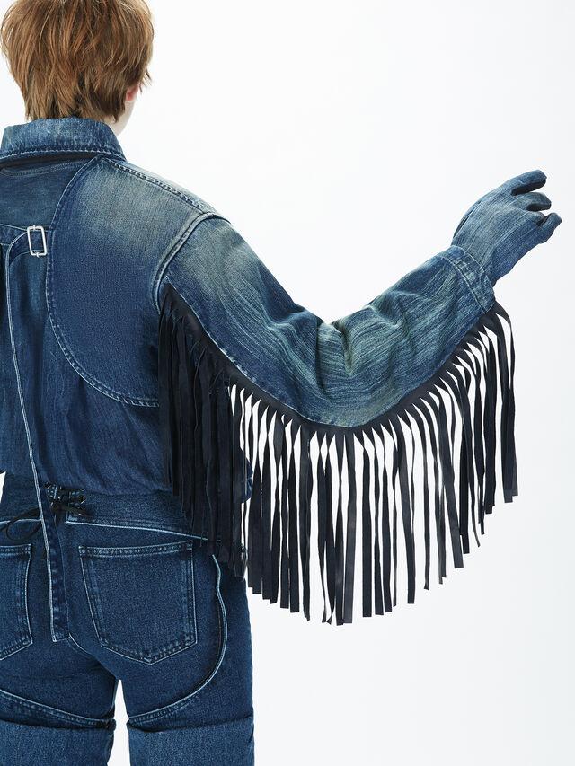 Diesel - SOGLV01-KIT, Blue Jeans - Gloves - Image 8