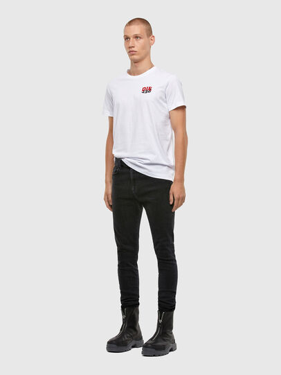 Diesel - T-DIEGOS-N25, White - T-Shirts - Image 4