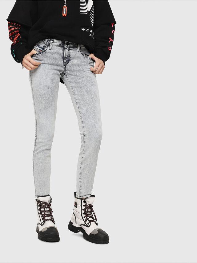 Diesel - Gracey JoggJeans 069FE, Light Blue - Jeans - Image 1