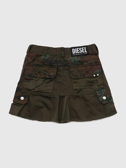 Diesel - GAMATA, Green Camouflage - Skirts - Image 2