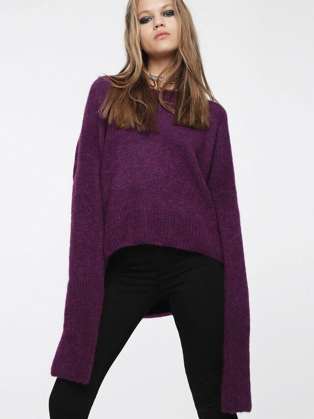 Diesel - M-ALPY, Violet - Knitwear - Image 1