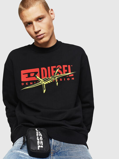 Diesel - S-BAY-BX5, Black - Sweaters - Image 3