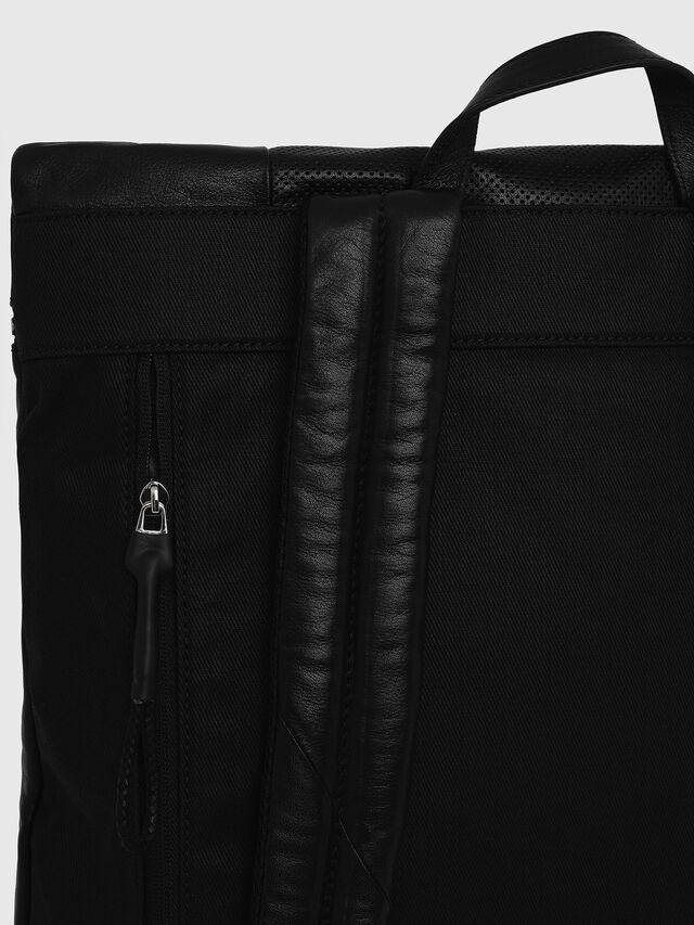 Diesel - L-TOLLE BACK, Black - Shopping and Shoulder Bags - Image 3