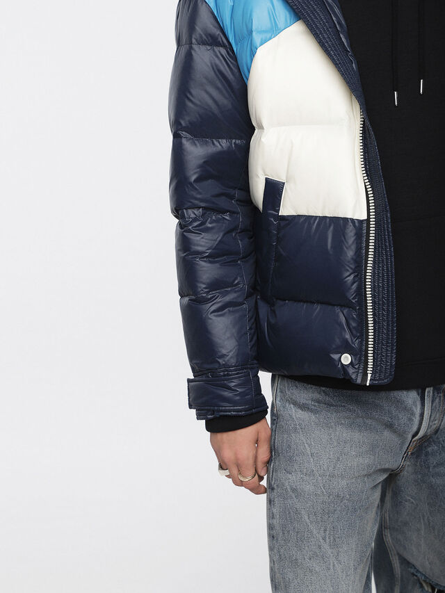 Diesel - W-SMITH, Multicolor/Blue - Winter Jackets - Image 5