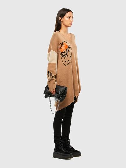 Diesel - M-ANNE, Light Brown - Knitwear - Image 8