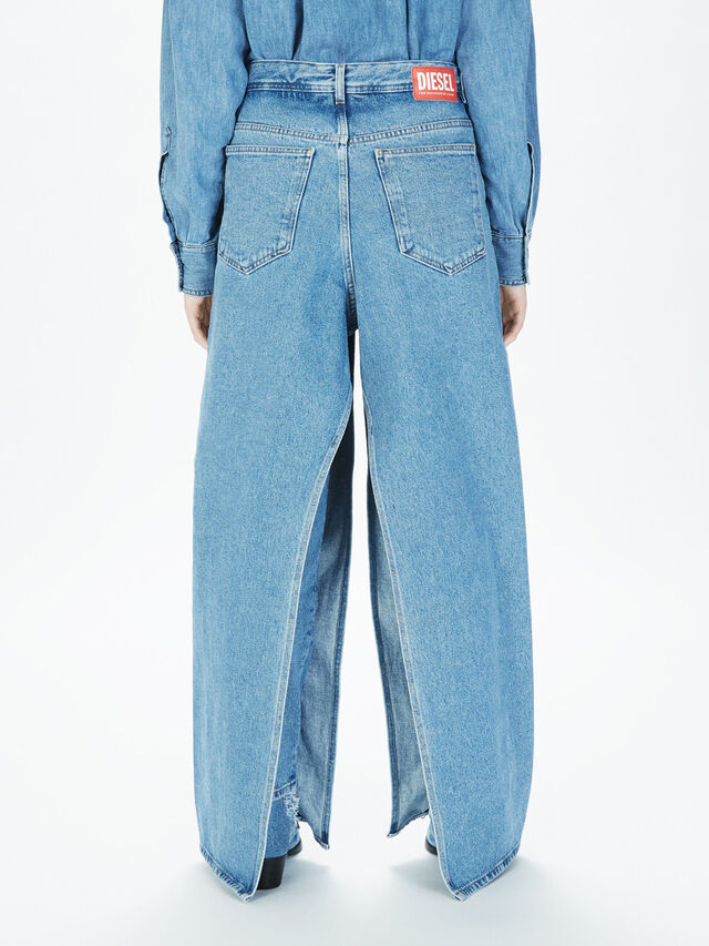 Diesel - SOWL01, Light Blue - Pants - Image 4