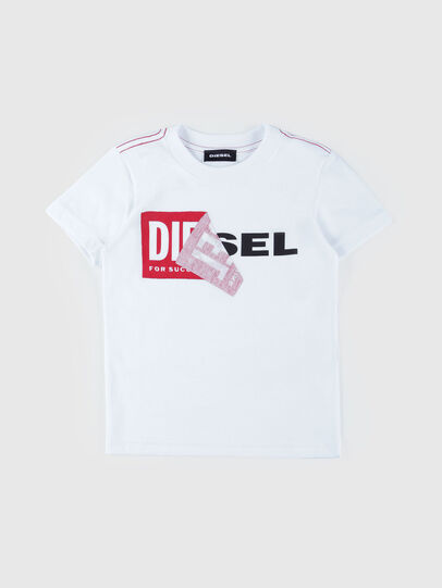 Diesel - TOQUEB MC-R, White - T-shirts and Tops - Image 1