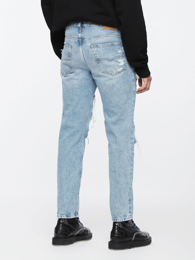 Diesel Mharky 0076M, Light Blue - Jeans - Image 2