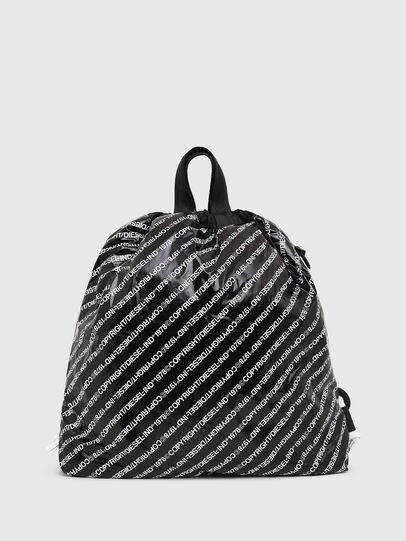 Diesel - COPYBACK, Black/White - Backpacks - Image 1