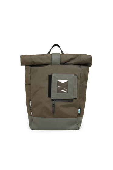 Roll-top backpack in X-Pac fabric