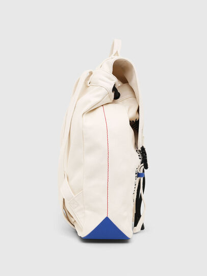 Diesel - VOLPAGO BACK, White - Backpacks - Image 3