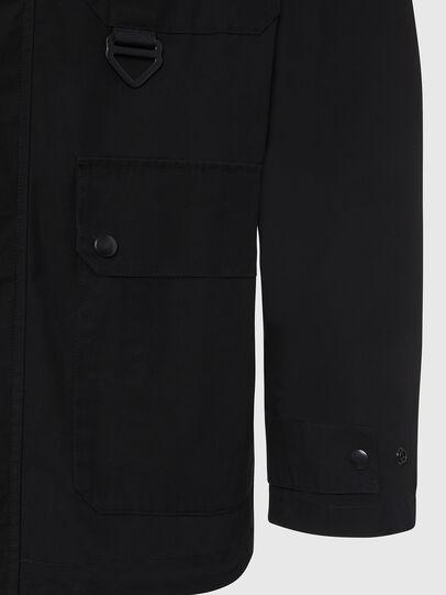 Diesel - J-AHKEE, Black - Jackets - Image 5