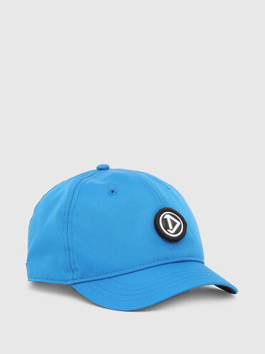 Baseball cap with detachable patch