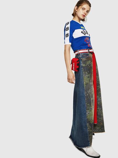 Diesel - DE-SHIRLEY, Medium blue - Skirts - Image 8