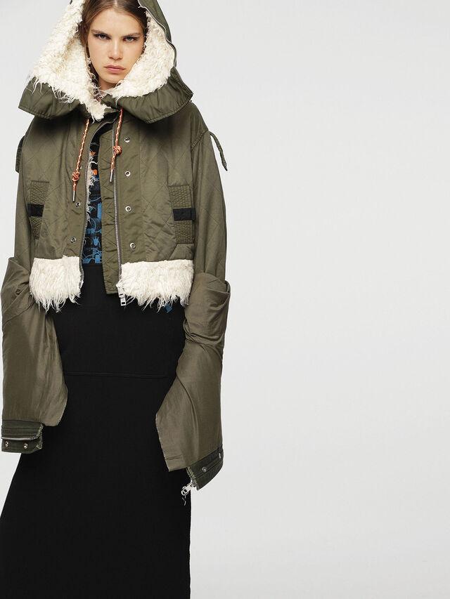Diesel - W-LOTTI, Military Green - Winter Jackets - Image 5