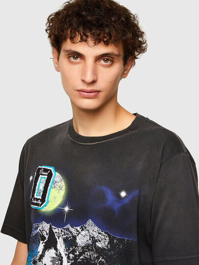 Diesel - T-JUST-A37, Black - T-Shirts - Image 3