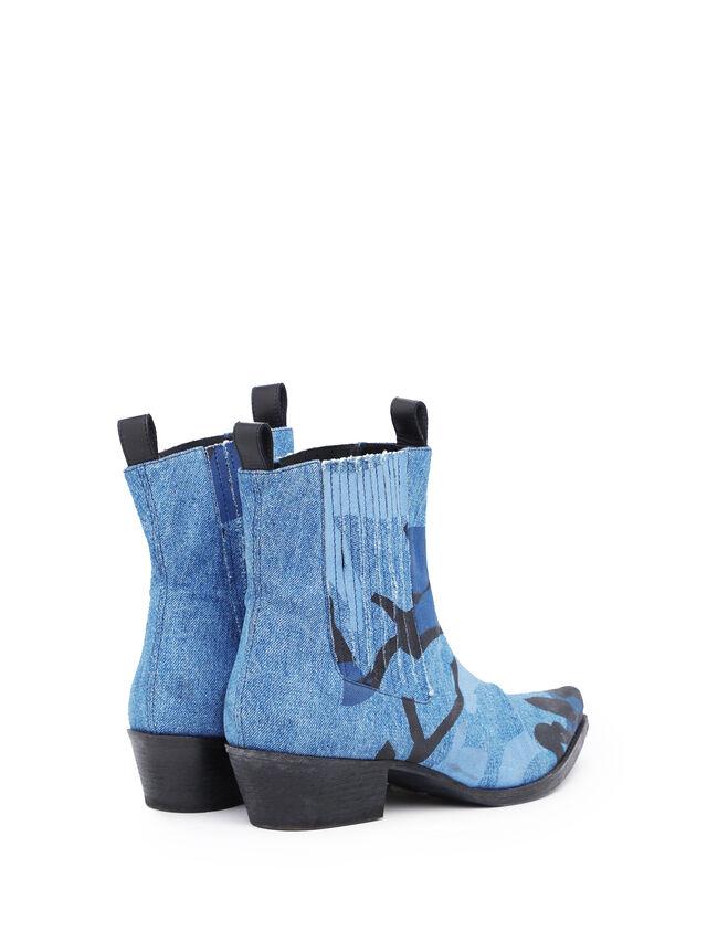 Diesel - SOCHELSEABOOT, Melange Blue - Boots - Image 3