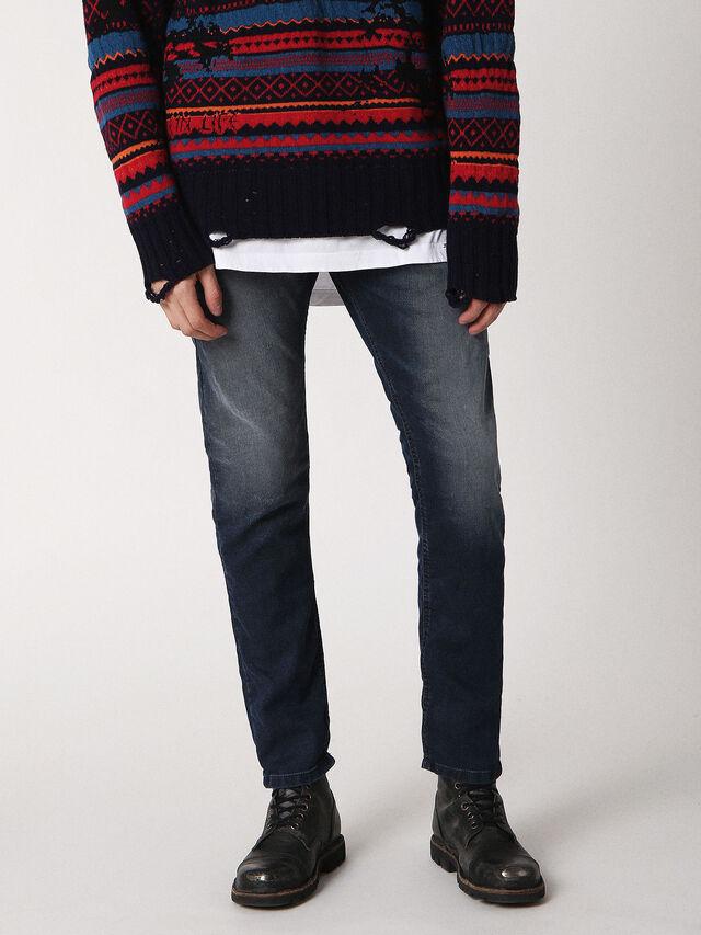 Diesel Krooley JoggJeans 0683Y, Dark Blue - Jeans - Image 1