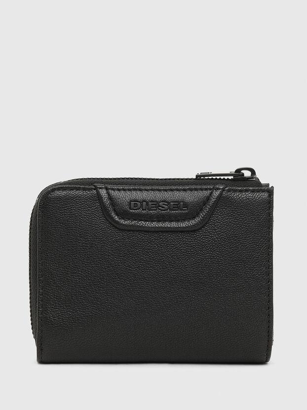 L-12 ZIP, Black - Zip-Round Wallets