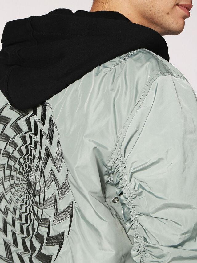 Diesel J-DUB, Light Grey - Jackets - Image 6