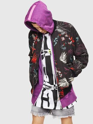 3da6a5b5 Men's Jackets: Leather, Denim, Bomber, Parka| Diesel®