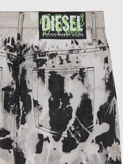 Diesel - DE-ELLYOT-SP, Black/White - Skirts - Image 4