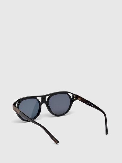 Diesel - DL0233, Black - Sunglasses - Image 2