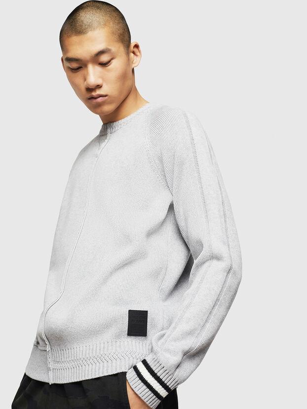 K-BOX, Light Grey - Knitwear
