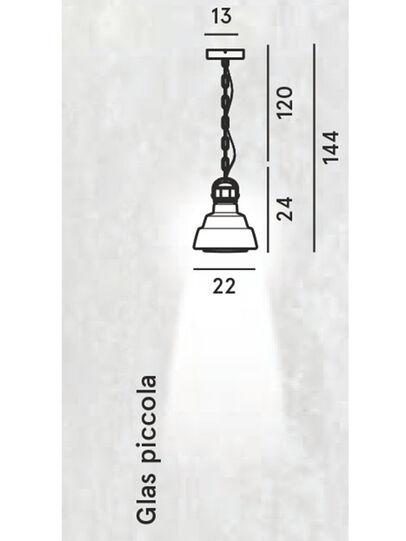 Diesel - GLAS PICCOLA,  - Hang Lighting - Image 2