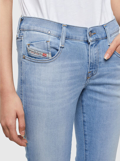 Diesel - D-Ebbey 0095D, Light Blue - Jeans - Image 4