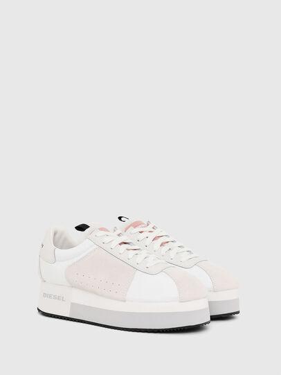 Diesel - S-PYAVE WEDGE, White/Pink - Sneakers - Image 2