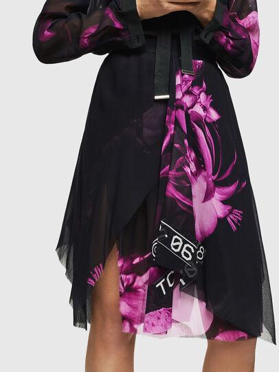 Diesel - O-CERYS, Black/Pink - Skirts - Image 1