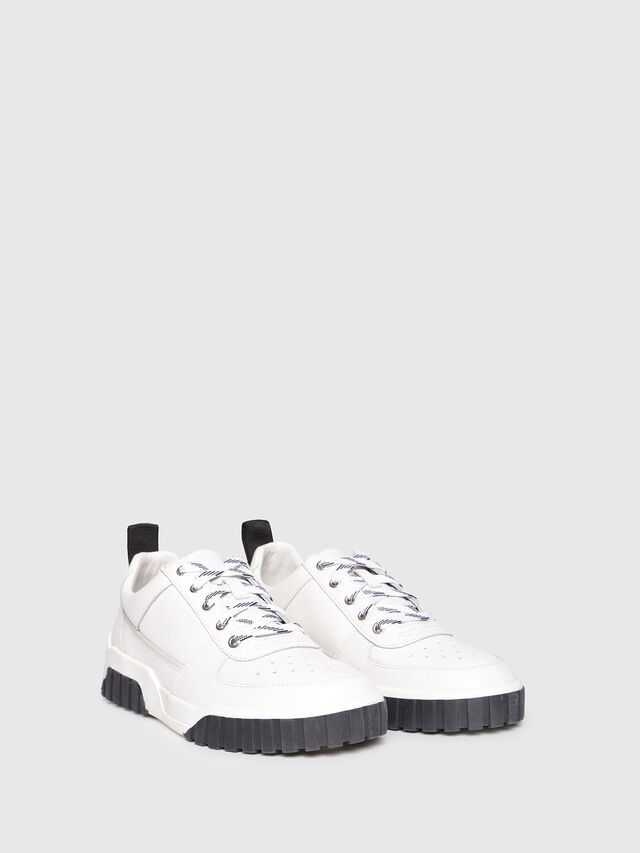 Diesel - S-RUA LC W, White - Sneakers - Image 2